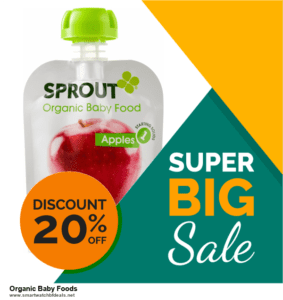 Top 5 Black Friday and Cyber Monday Organic Baby Foods Deals 2020 Buy Now