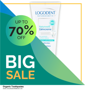 5 Best Organic Toothpastes Black Friday 2020 and Cyber Monday Deals & Sales