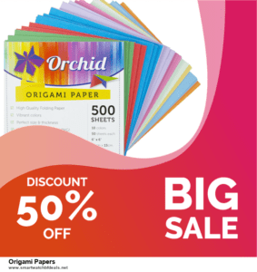 List of 10 Best Black Friday and Cyber Monday Origami Papers Deals 2020