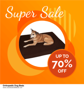 9 Best Orthopedic Dog Beds Black Friday 2020 and Cyber Monday Deals Sales