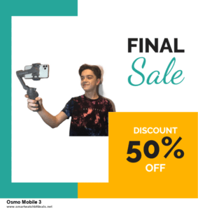 7 Best Osmo Mobile 3 Black Friday 2020 and Cyber Monday Deals [Up to 30% Discount]