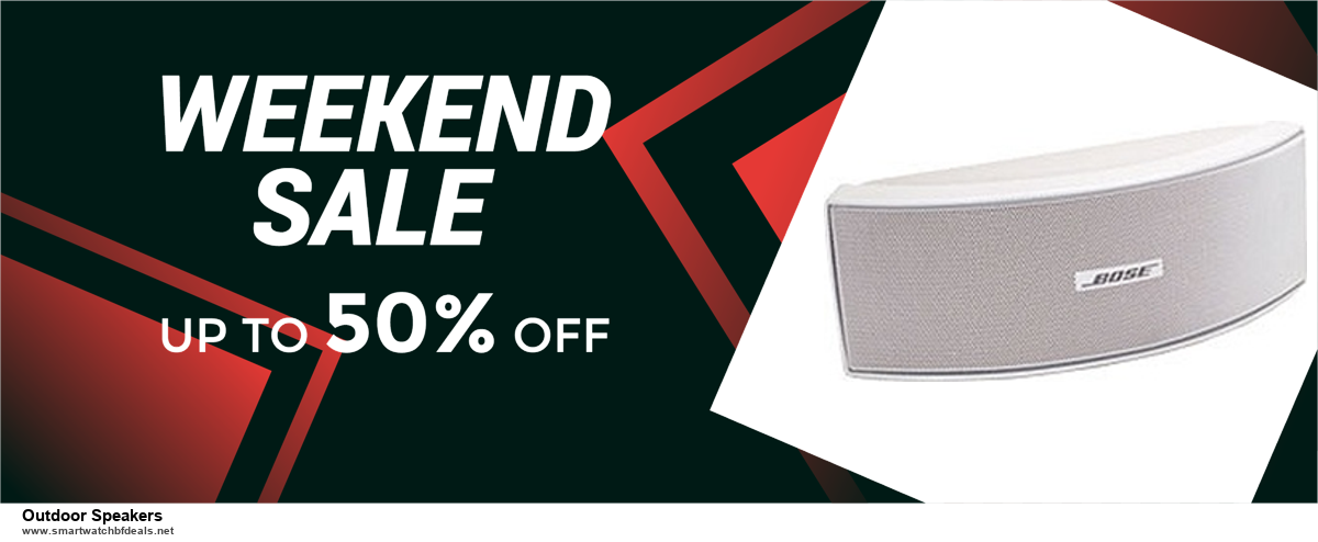 9 Best Black Friday and Cyber Monday Outdoor Speakers Deals 2020 [Up to 40% OFF]