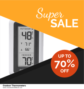 Top 10 Outdoor Thermometers Black Friday 2020 and Cyber Monday Deals