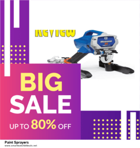 Top 11 Black Friday and Cyber Monday Paint Sprayers 2020 Deals Massive Discount