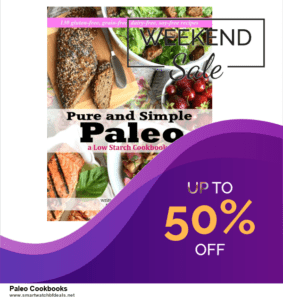 9 Best Paleo Cookbooks Black Friday 2020 and Cyber Monday Deals Sales