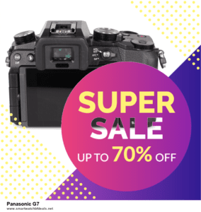 List of 6 Panasonic G7 Black Friday 2020 and Cyber MondayDeals [Extra 50% Discount]