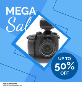 5 Best Panasonic Gh5 Black Friday 2020 and Cyber Monday Deals & Sales