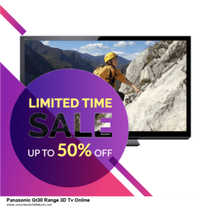 List of 10 Best Black Friday and Cyber Monday Panasonic Gt30 Range 3D Tv Online Deals 2020