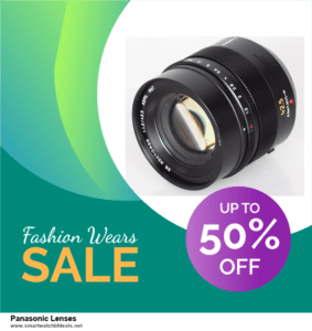 Top 10 Panasonic Lenses Black Friday 2020 and Cyber Monday Deals