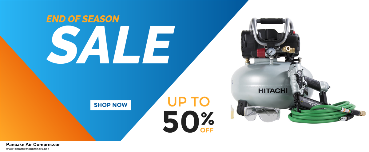 List of 10 Best Black Friday and Cyber Monday Pancake Air Compressor Deals 2020