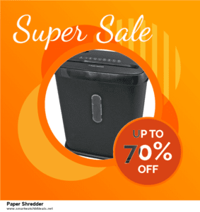 List of 6 Paper Shredder Black Friday 2020 and Cyber MondayDeals [Extra 50% Discount]