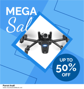 List of 6 Parrot Anafi Black Friday 2020 and Cyber MondayDeals [Extra 50% Discount]