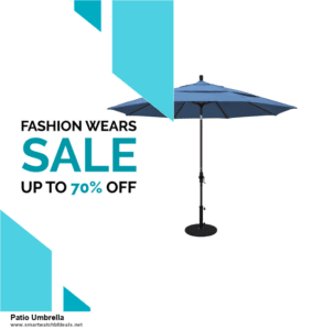 7 Best Patio Umbrella Black Friday 2020 and Cyber Monday Deals [Up to 30% Discount]