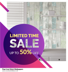 6 Best Peel And Stick Wallpapers Black Friday 2020 and Cyber Monday Deals | Huge Discount