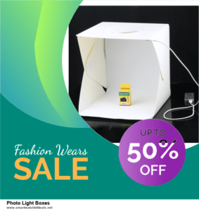 5 Best Photo Light Boxes Black Friday 2020 and Cyber Monday Deals & Sales