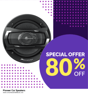 Top 10 Pioneer Car Speakers Black Friday 2020 and Cyber Monday Deals