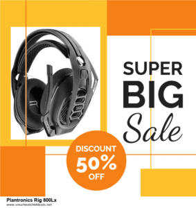 Grab 10 Best Black Friday and Cyber Monday Plantronics Rig 800Lx Deals & Sales