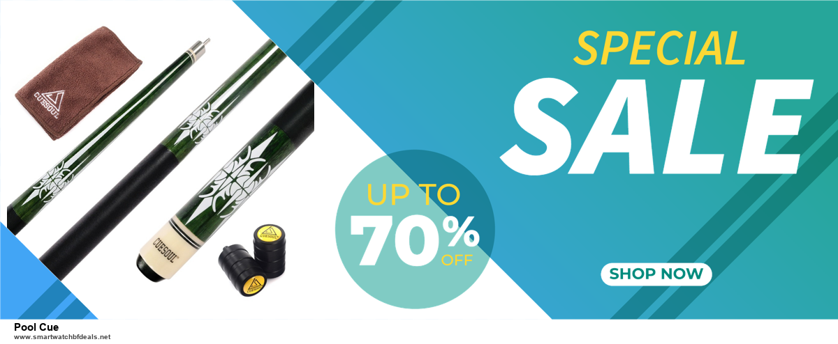 13 Best Black Friday and Cyber Monday 2020 Pool Cue Deals [Up to 50% OFF]