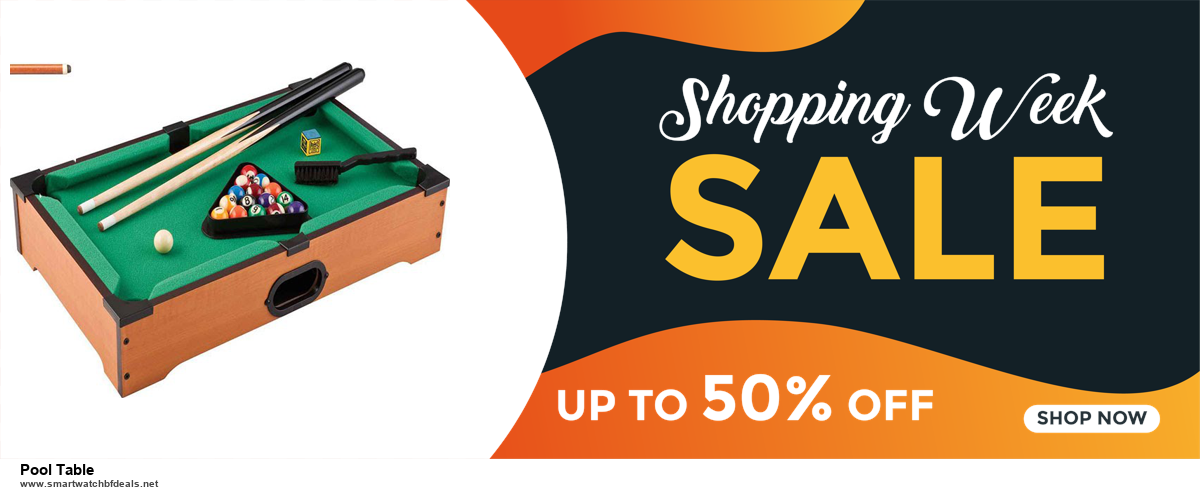 9 Best Black Friday and Cyber Monday Pool Table Deals 2020 [Up to 40% OFF]