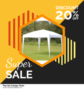 Top 10 Pop Up Canopy Tents Black Friday 2020 and Cyber Monday Deals