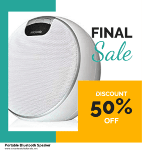 10 Best Portable Bluetooth Speaker Black Friday 2020 and Cyber Monday Deals Discount Coupons