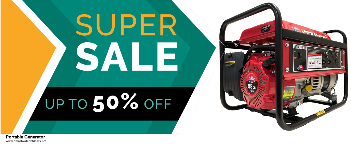 10 Best Black Friday 2020 and Cyber Monday Portable Generator Deals | 40% OFF