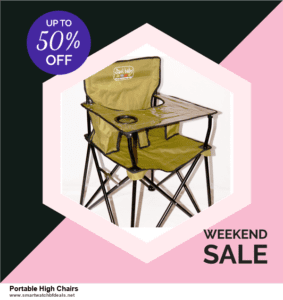 10 Best Black Friday 2020 and Cyber Monday  Portable High Chairs Deals | 40% OFF
