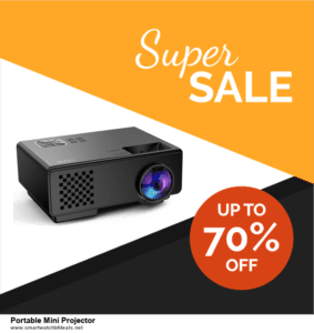 9 Best Black Friday and Cyber Monday Portable Mini Projector Deals 2020 [Up to 40% OFF]