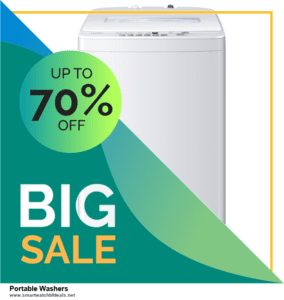 Top 5 Black Friday 2020 and Cyber Monday Portable Washers Deals [Grab Now]
