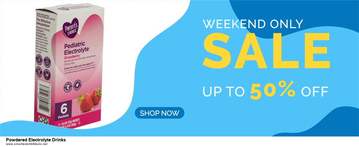 Top 11 Black Friday and Cyber Monday Powdered Electrolyte Drinks 2020 Deals Massive Discount