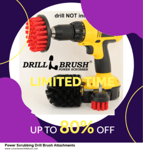 13 Exclusive Black Friday and Cyber Monday Power Scrubbing Drill Brush Attachments Deals 2020