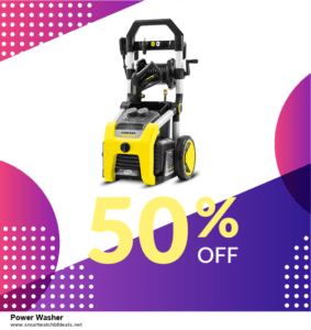Top 10 Power Washer Black Friday 2020 and Cyber Monday Deals