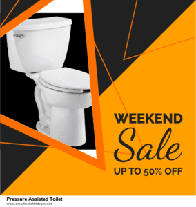 7 Best Pressure Assisted Toilet Black Friday 2020 and Cyber Monday Deals [Up to 30% Discount]