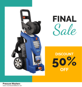 Grab 10 Best Black Friday and Cyber Monday Pressure Washers Deals & Sales