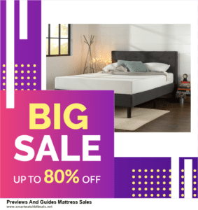 9 Best Black Friday and Cyber Monday Previews And Guides Mattress Sales Deals 2020 [Up to 40% OFF]