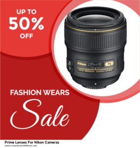 5 Best Prime Lenses For Nikon Cameras Black Friday 2020 and Cyber Monday Deals & Sales