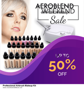 List of 10 Best Black Friday and Cyber Monday Professional Airbrush Makeup Kit Deals 2020