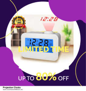 Grab 10 Best Black Friday and Cyber Monday Projection Clocks Deals & Sales