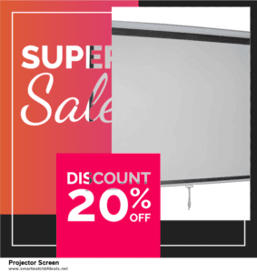 Top 5 Black Friday and Cyber Monday Projector Screen Deals 2020 Buy Now