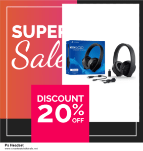 7 Best Ps Headset Black Friday 2020 and Cyber Monday Deals [Up to 30% Discount]