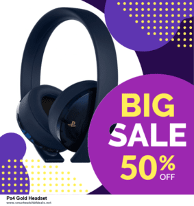 Grab 10 Best Black Friday and Cyber Monday Ps4 Gold Headset Deals & Sales