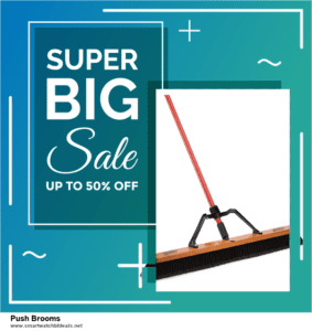 Top 11 Black Friday and Cyber Monday Push Brooms 2020 Deals Massive Discount