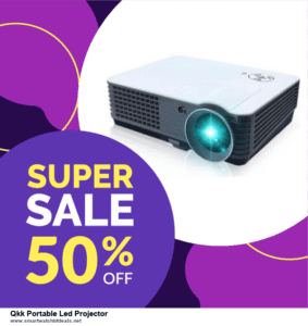7 Best Qkk Portable Led Projector Black Friday 2020 and Cyber Monday Deals [Up to 30% Discount]