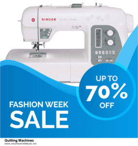 13 Best Black Friday and Cyber Monday 2020 Quilting Machines Deals [Up to 50% OFF]