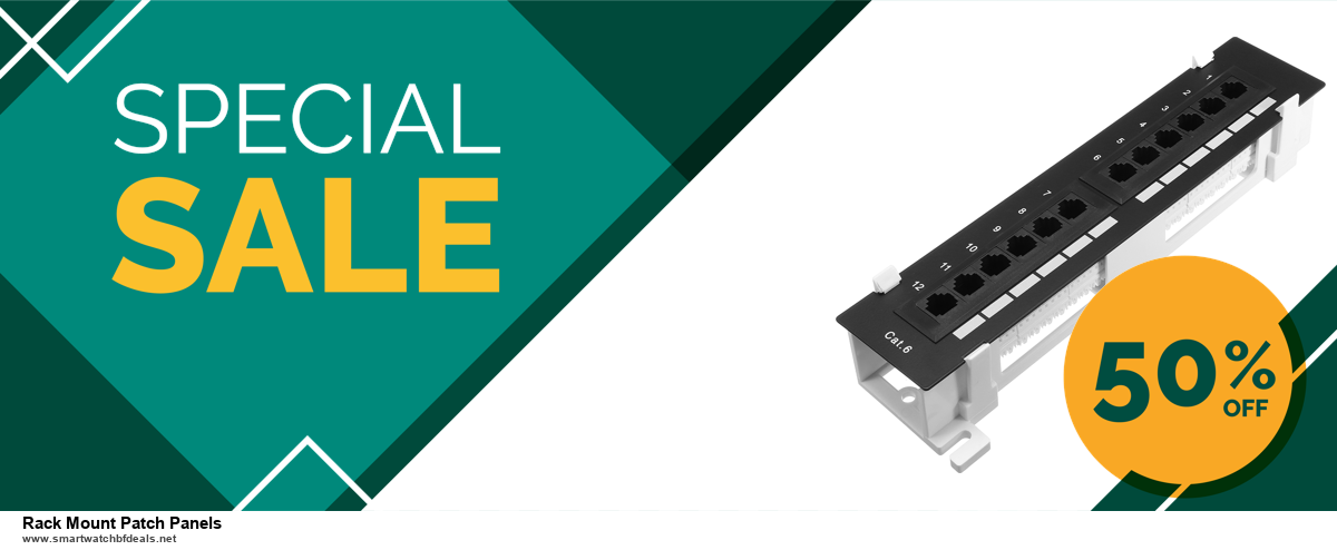 5 Best Rack Mount Patch Panels Black Friday 2020 and Cyber Monday Deals & Sales