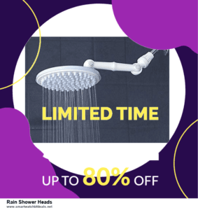 13 Exclusive Black Friday and Cyber Monday Rain Shower Heads Deals 2020