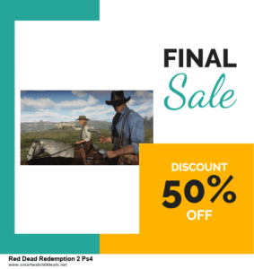 Grab 10 Best Black Friday and Cyber Monday Red Dead Redemption 2 Ps4 Deals & Sales