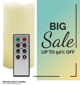 7 Best Remote Control Candles Black Friday 2020 and Cyber Monday Deals [Up to 30% Discount]