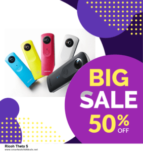 7 Best Ricoh Theta S Black Friday 2020 and Cyber Monday Deals [Up to 30% Discount]