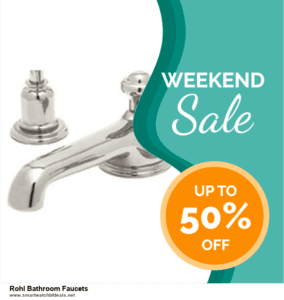 7 Best Rohl Bathroom Faucets Black Friday 2020 and Cyber Monday Deals [Up to 30% Discount]